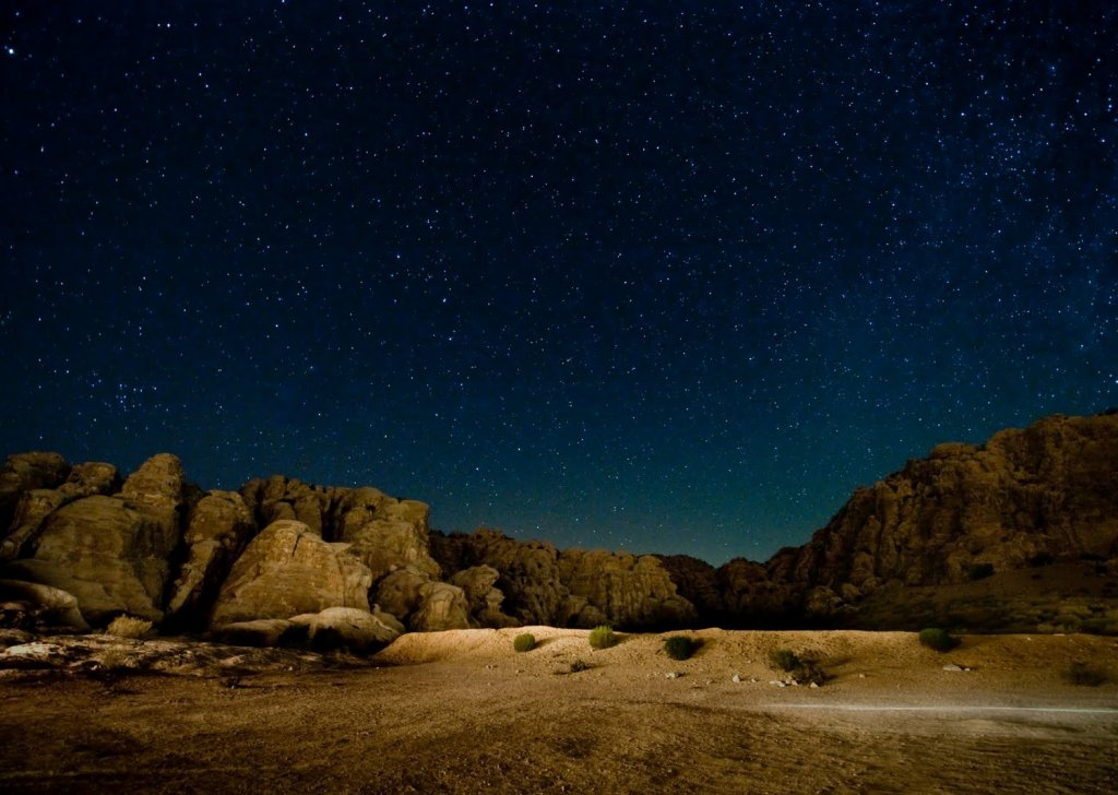 The Desert At Night Audio Atmosphere